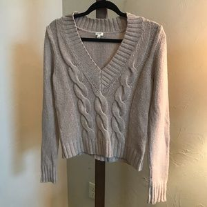 J. Crew Cable Knit Sweater size Small